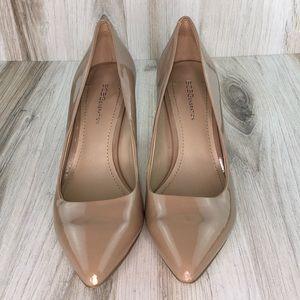 "BCBGeneration Nude ""PL-gamink-x"" heels"